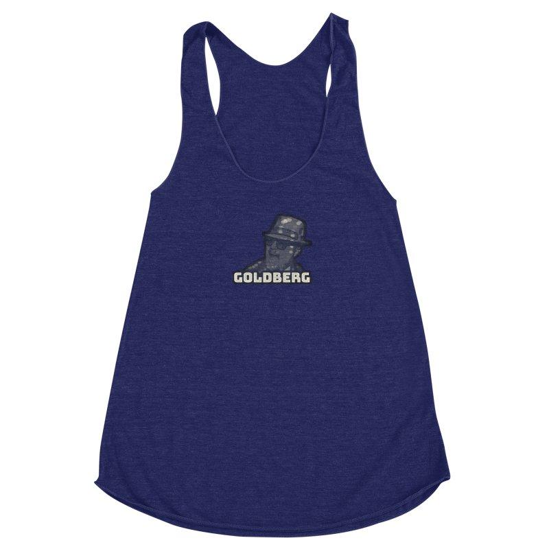 Goldberg Let's Dance ALT Women's Racerback Triblend Tank by Goldberg's Artist Shop