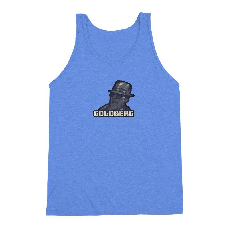Goldberg Let's Dance ALT Men's Triblend Tank by Goldberg's Artist Shop
