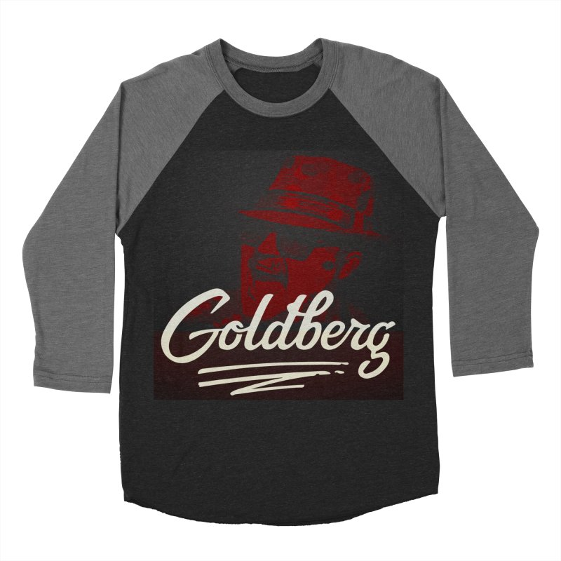 Goldberg Alt 2 Men's Baseball Triblend T-Shirt by Goldberg's Artist Shop