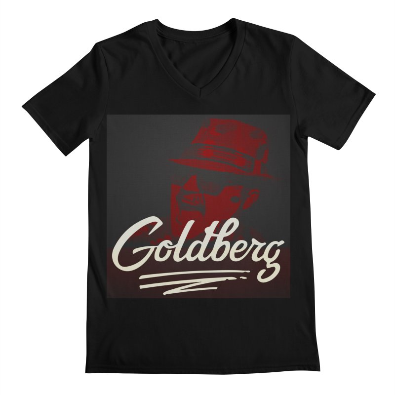 Goldberg Alt 2 Men's V-Neck by Goldberg's Artist Shop