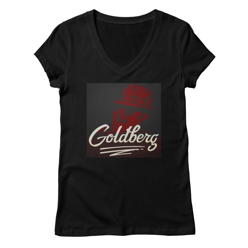 Goldberg Alt 2 Women's V-Neck by Goldberg's Artist Shop