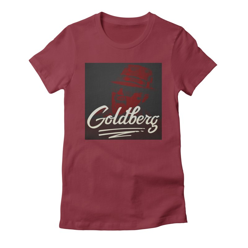 Goldberg Alt 2 Women's Fitted T-Shirt by Goldberg's Artist Shop