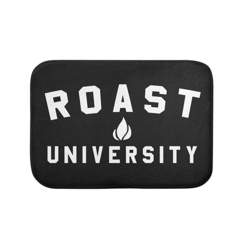 Roast University Home Bath Mat by Golden Pony Gear