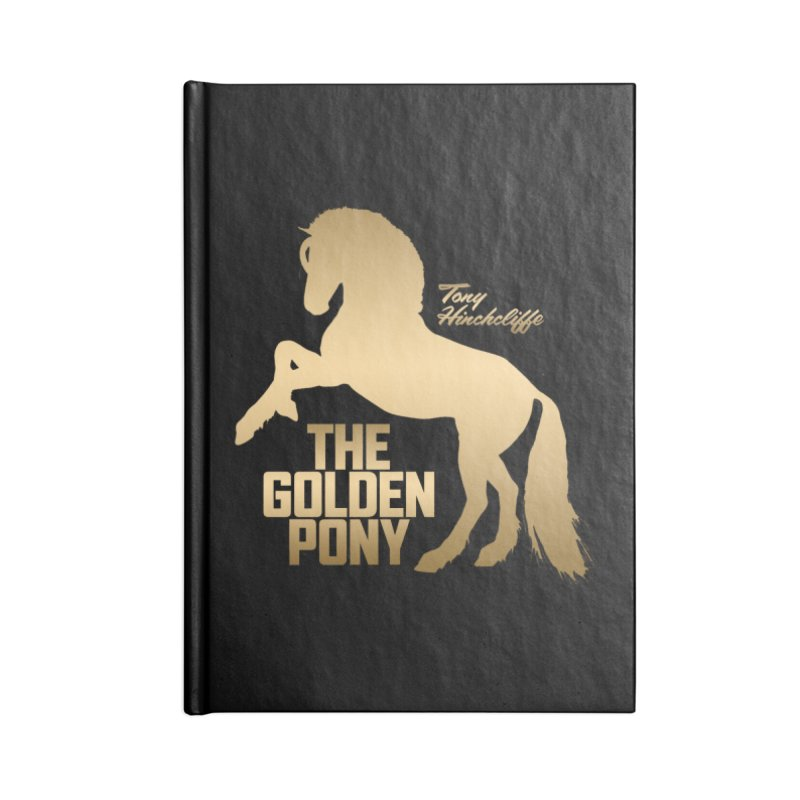 The Golden Pony Accessories Notebook by Golden Pony Gear