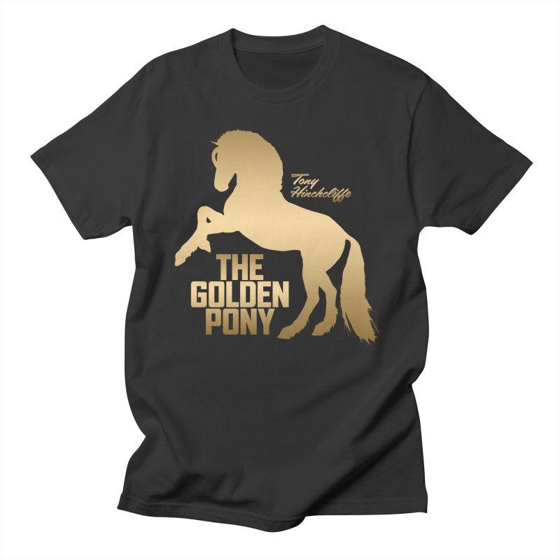 The Golden Pony Men's T-Shirt by Golden Pony Gear