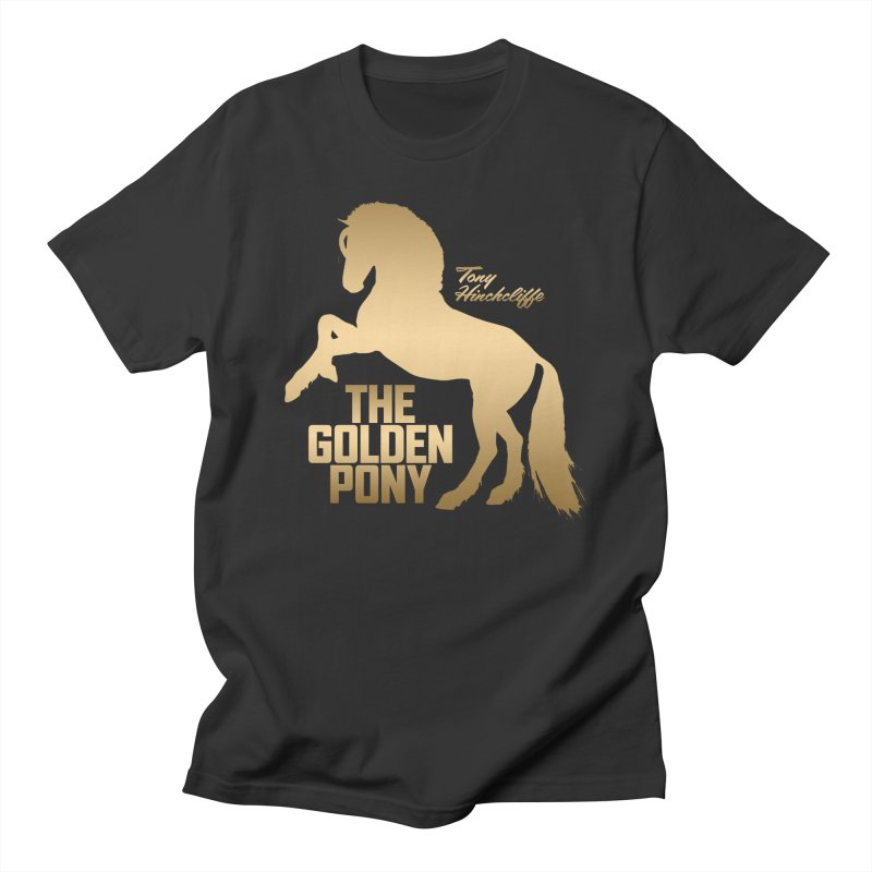The Golden Pony Men's T-Shirt by Golden Pony Gear
