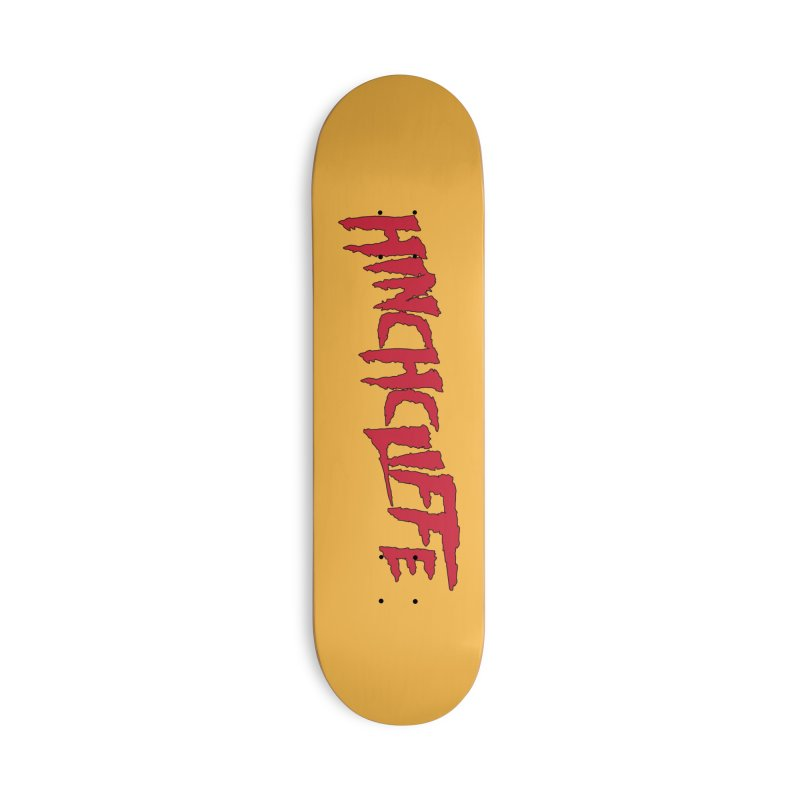Hinchcliffe Mania Accessories Skateboard by Golden Pony Gear