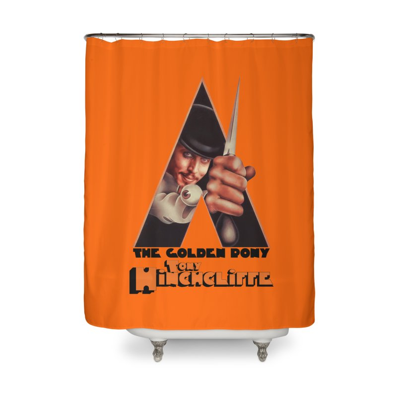 Clockwork Hinchcliffe Home Shower Curtain by Golden Pony Gear