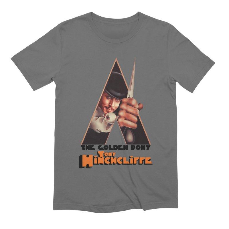 Clockwork Hinchcliffe Men's T-Shirt by Golden Pony Gear