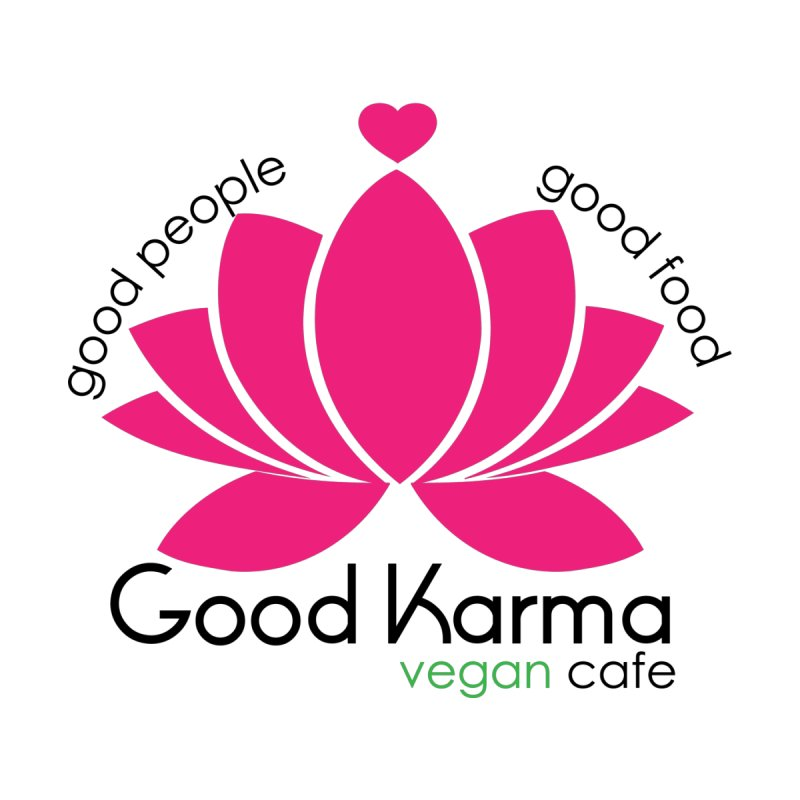 Good Karma Vegan Cafe NJ Men's Longsleeve T-Shirt by GoodKarmaVeganCafeNJ's Artist Shop