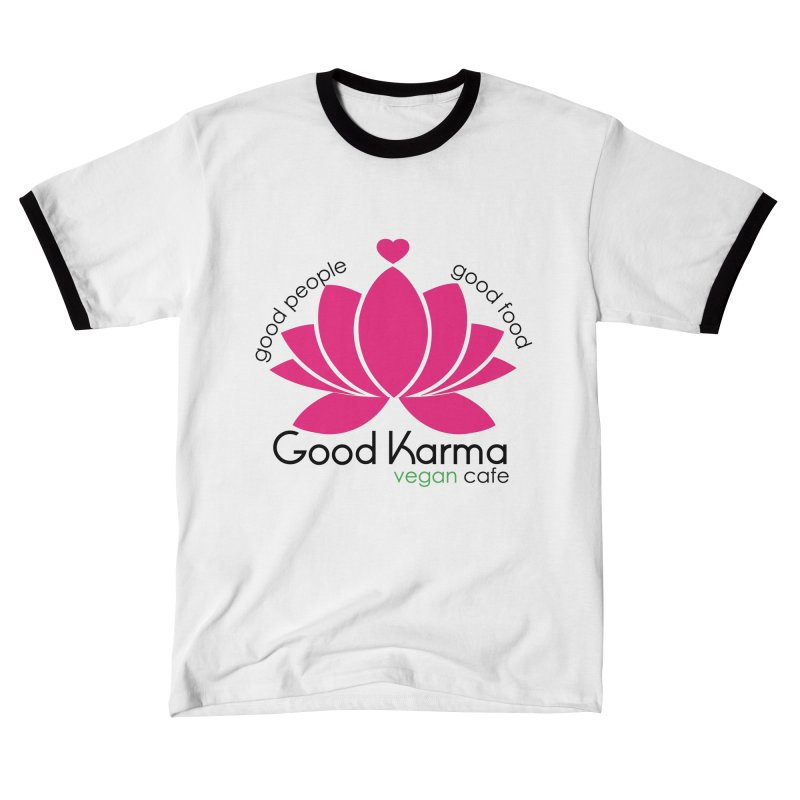 Good Karma Vegan Cafe NJ Men's T-Shirt by GoodKarmaVeganCafeNJ's Artist Shop