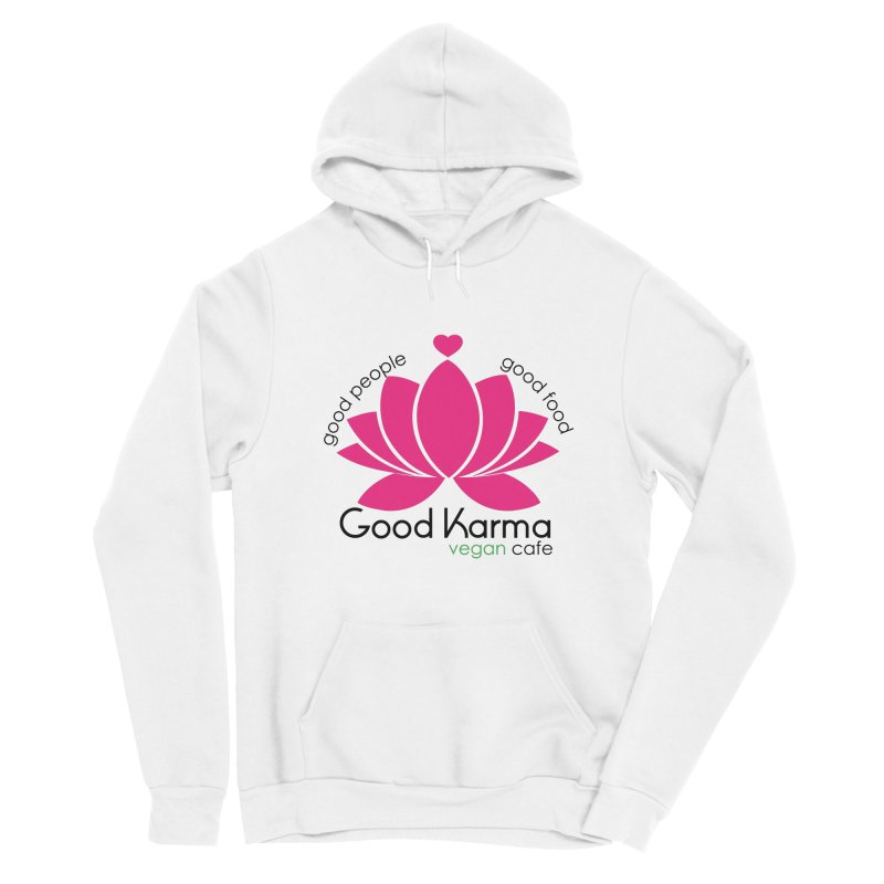 Good Karma Vegan Cafe NJ Women's Pullover Hoody by GoodKarmaVeganCafeNJ's Artist Shop
