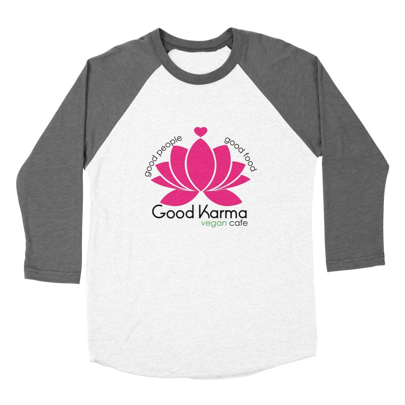 Good Karma Vegan Cafe NJ Women's Longsleeve T-Shirt by GoodKarmaVeganCafeNJ's Artist Shop