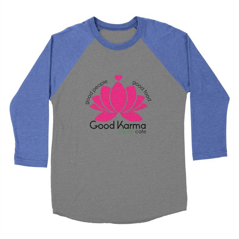 Good Karma Vegan Cafe NJ Women's Longsleeve T-Shirt by GoodKarmaVeganCafeNJ's Artist Shop