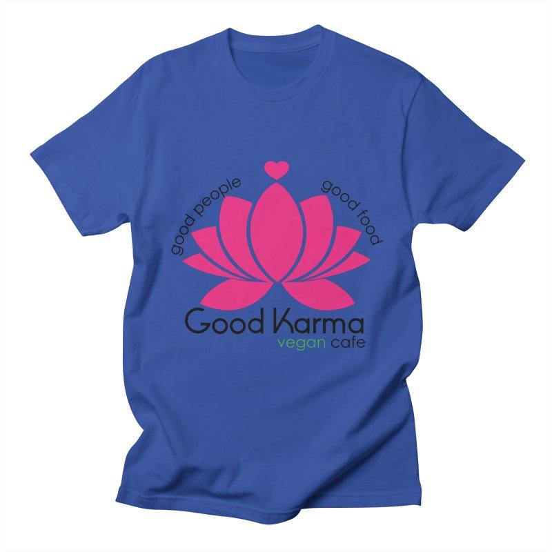 Good Karma Vegan Cafe NJ Men's T-Shirt by GoodKarmaVeganCafeNJ's Artist Shop