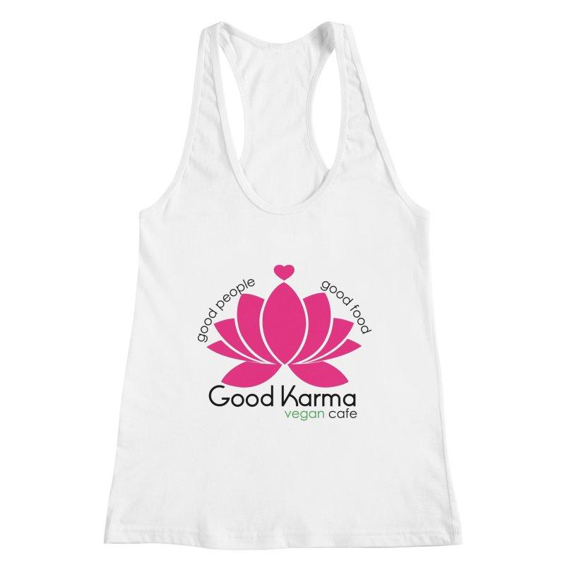 Good Karma Vegan Cafe NJ Women's Tank by GoodKarmaVeganCafeNJ's Artist Shop