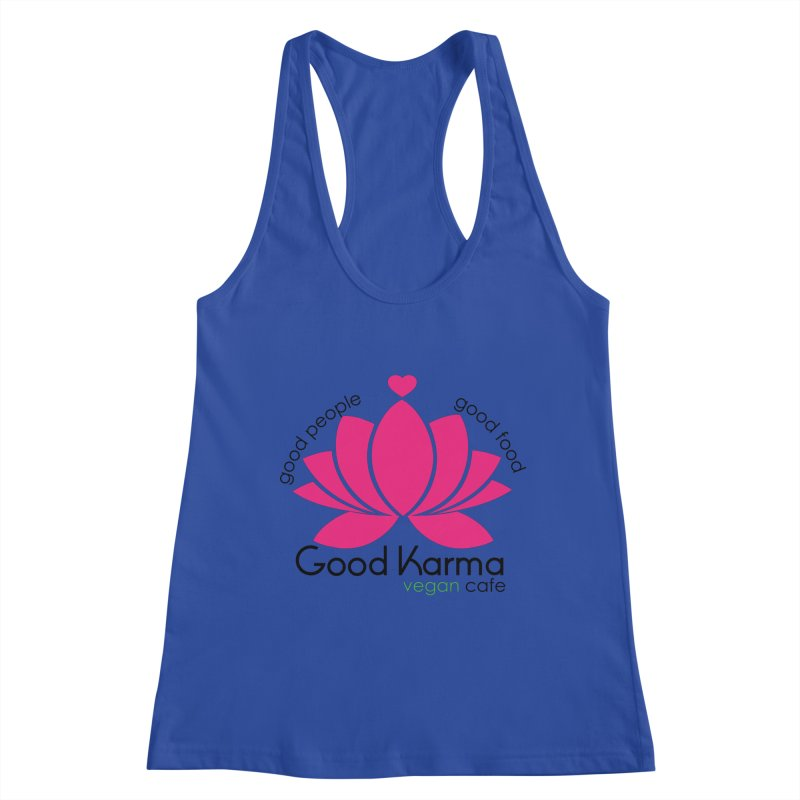 Good Karma Vegan Cafe NJ Women's Tank by GoodKarmaVeganCafeNJ's Artist Shop