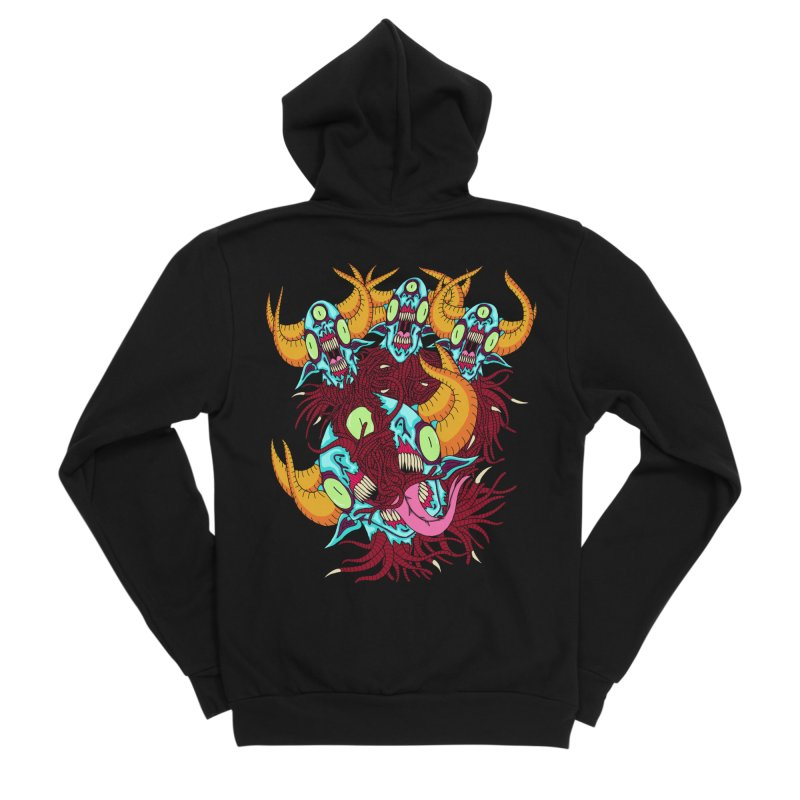 Greatly Gathered, Duly Dismembered Women's Zip-Up Hoody by Good Job Robb