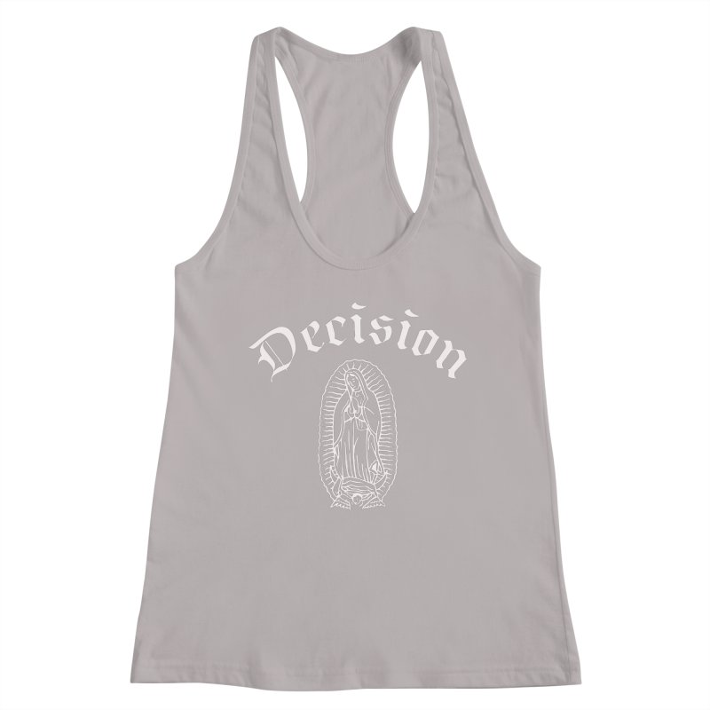 Decision Guadelupe Women's Tank by Good Rats Barbershop