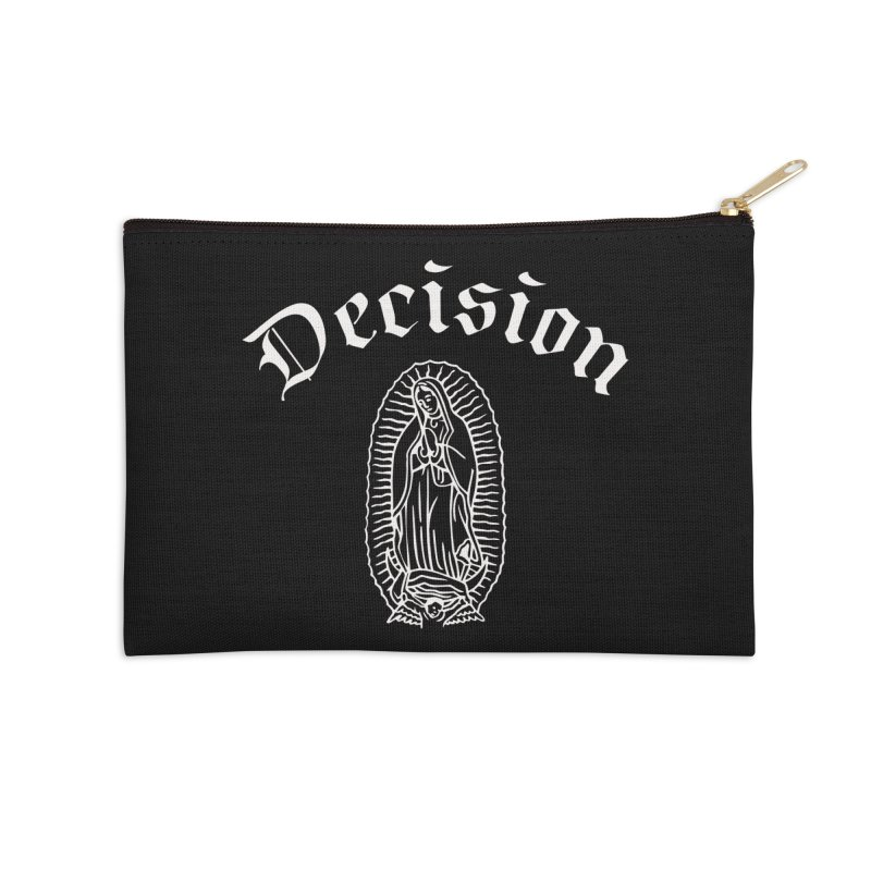 Decision Guadelupe Accessories Zip Pouch by Good Rats Barbershop