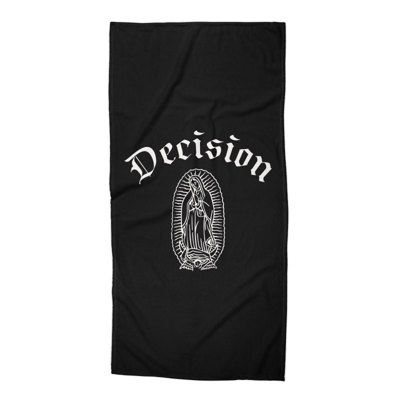 Decision Guadelupe Accessories Beach Towel by Good Rats Barbershop