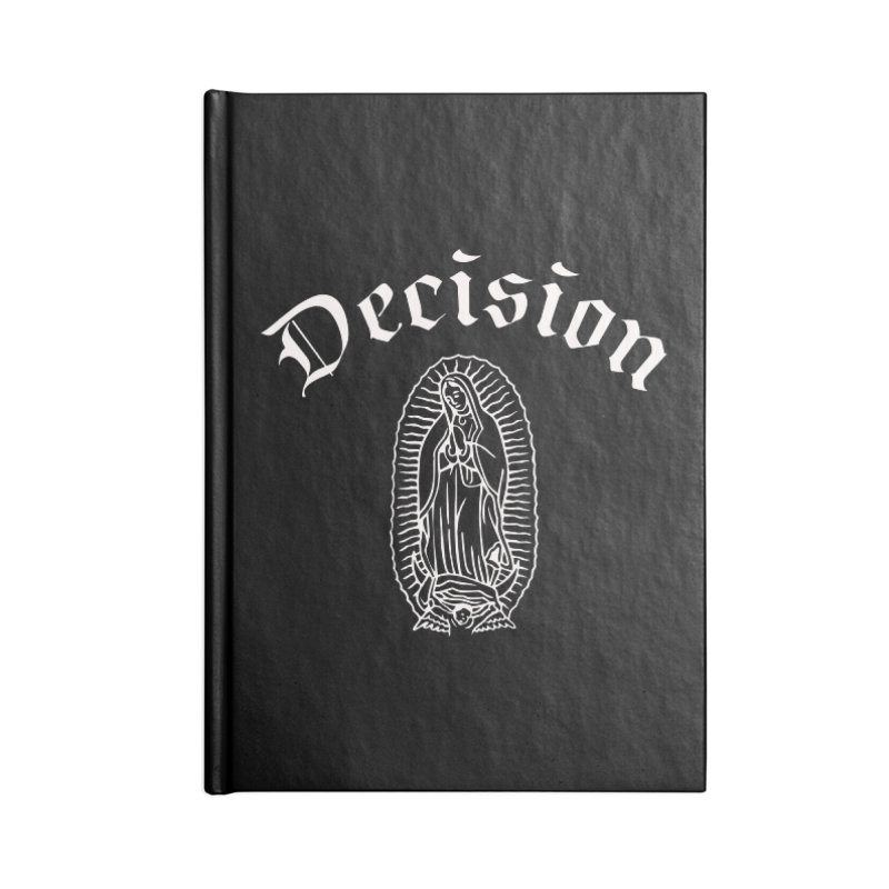Decision Guadelupe Accessories Notebook by Good Rats Barbershop