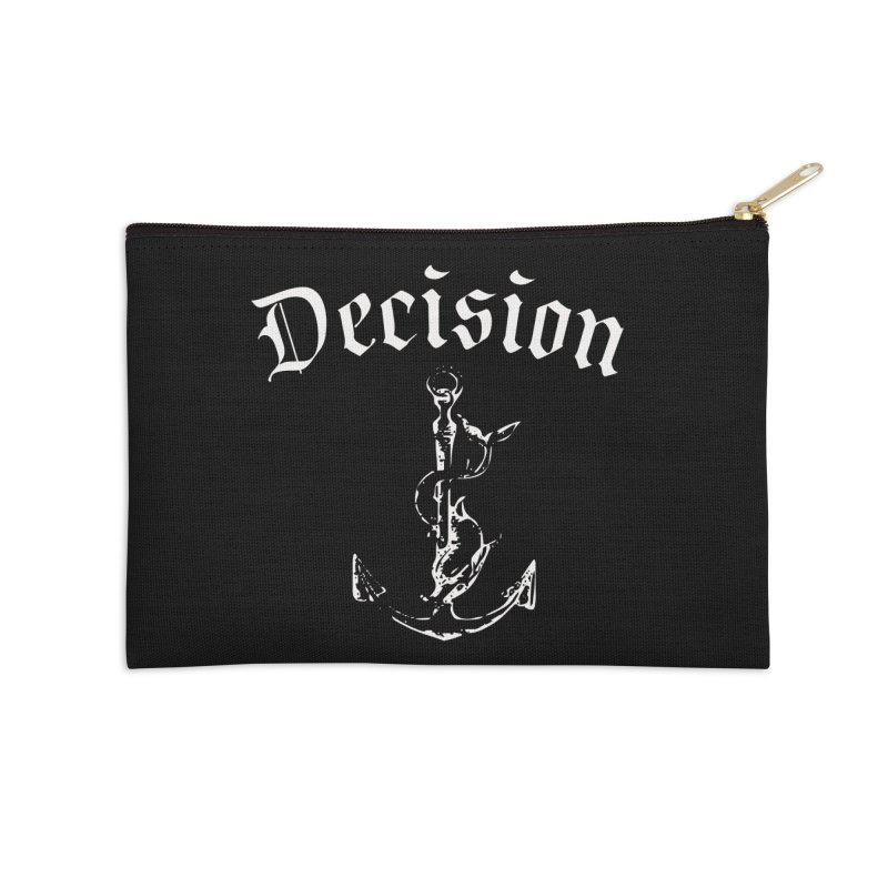 Decision anchor Accessories Zip Pouch by Good Rats Barbershop