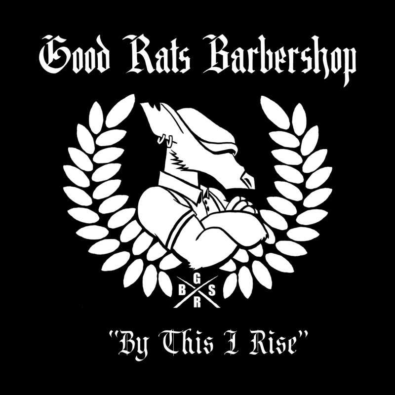 Good Rats RISE Men's T-Shirt by Good Rats Barbershop