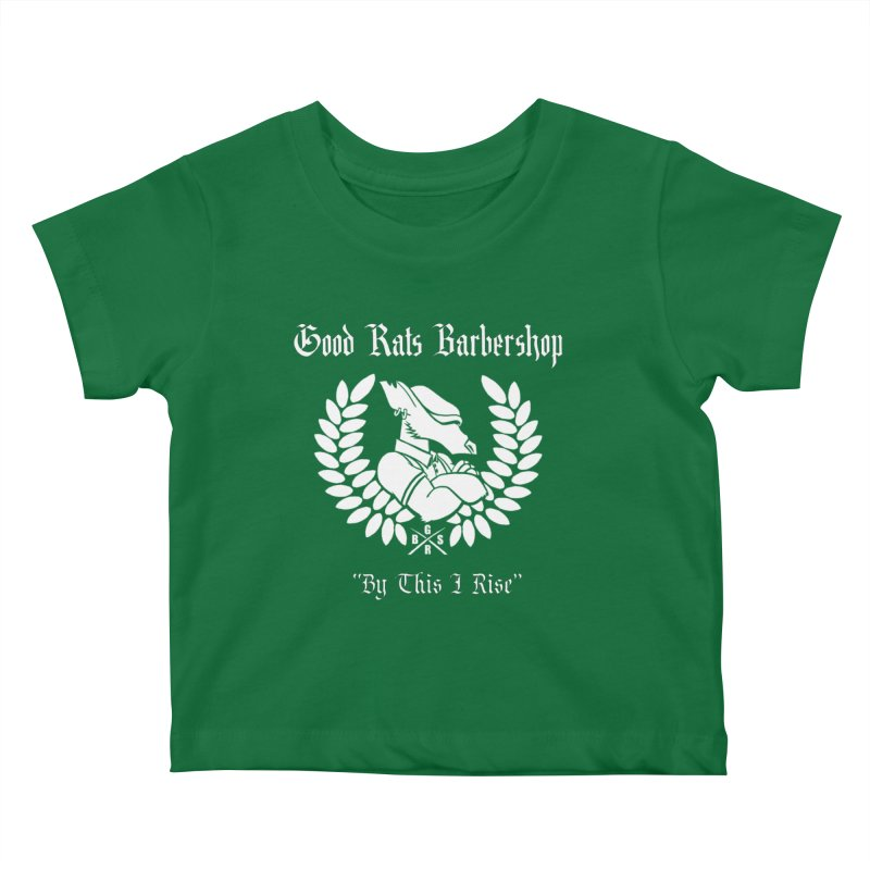 Good Rats RISE Kids Baby T-Shirt by Good Rats Barbershop