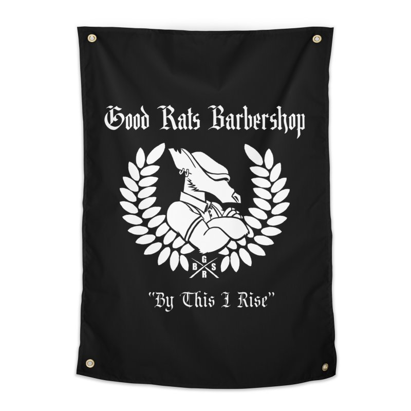 Good Rats RISE Home Tapestry by Good Rats Barbershop