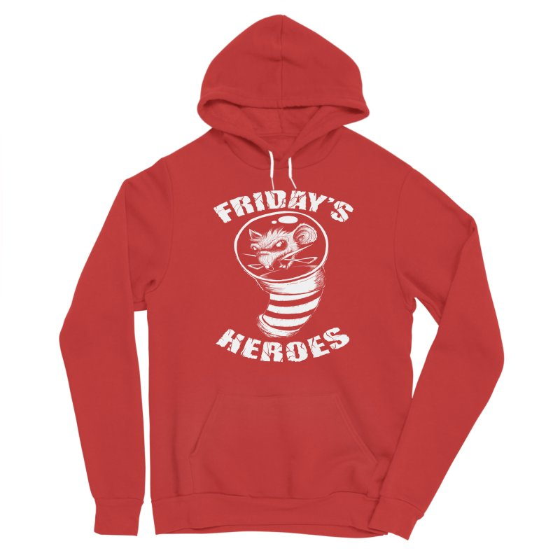 Friday's Heroes Women's Pullover Hoody by Good Rats Barbershop