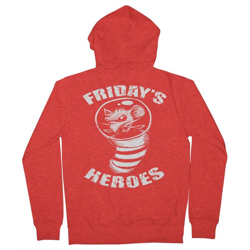Friday's Heroes Women's Zip-Up Hoody by Good Rats Barbershop