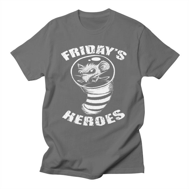 Friday's Heroes Men's T-Shirt by Good Rats Barbershop