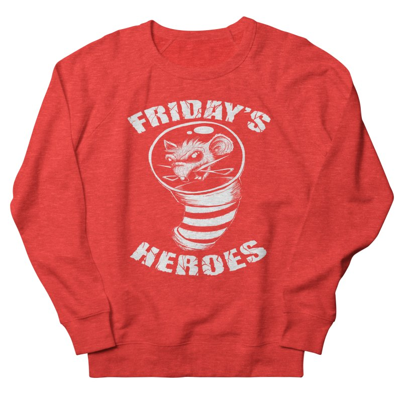 Friday's Heroes Men's Sweatshirt by Good Rats Barbershop