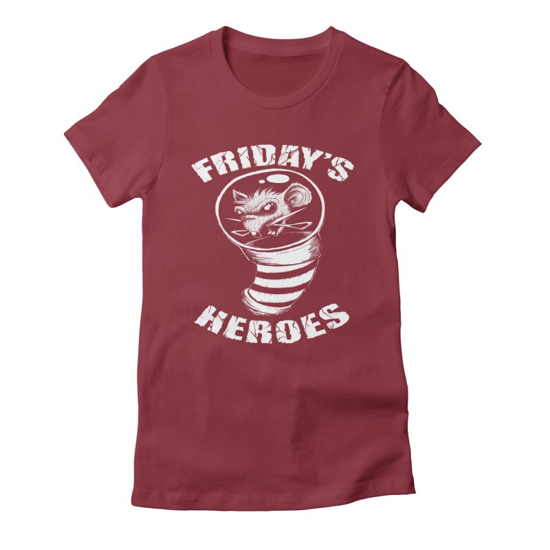 Friday's Heroes Women's T-Shirt by Good Rats Barbershop