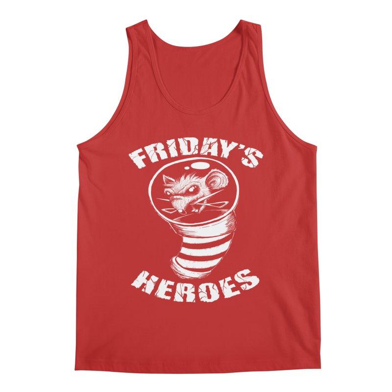 Friday's Heroes Men's Tank by Good Rats Barbershop