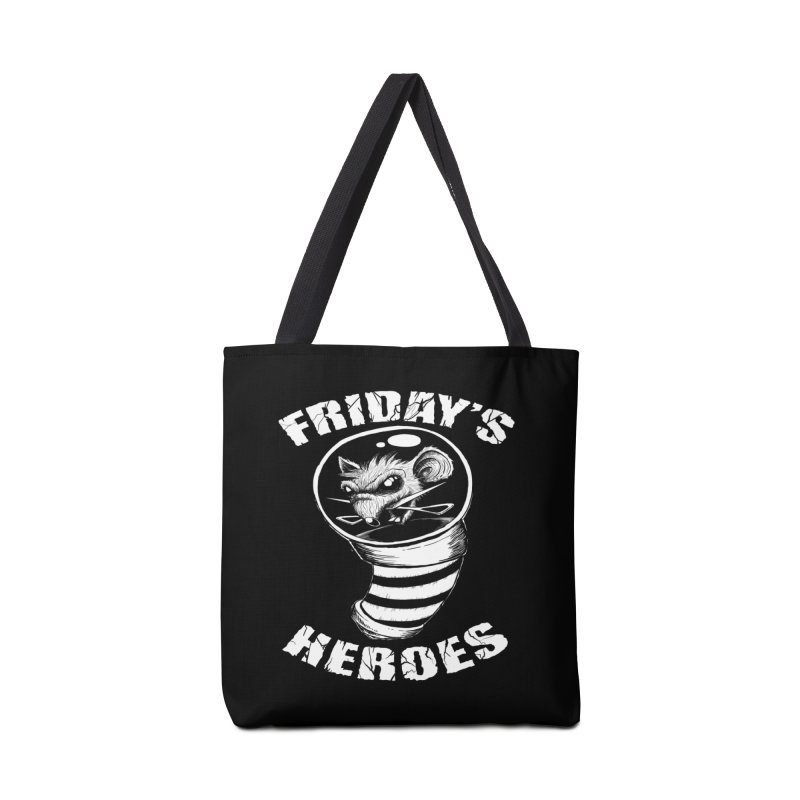 Friday's Heroes Accessories Bag by Good Rats Barbershop