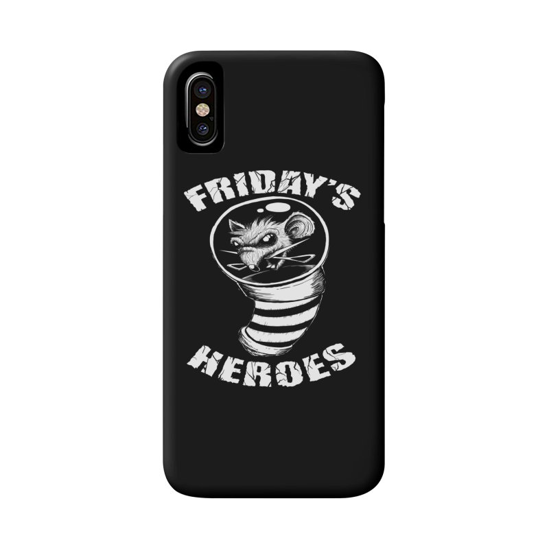 Friday's Heroes Accessories Phone Case by Good Rats Barbershop