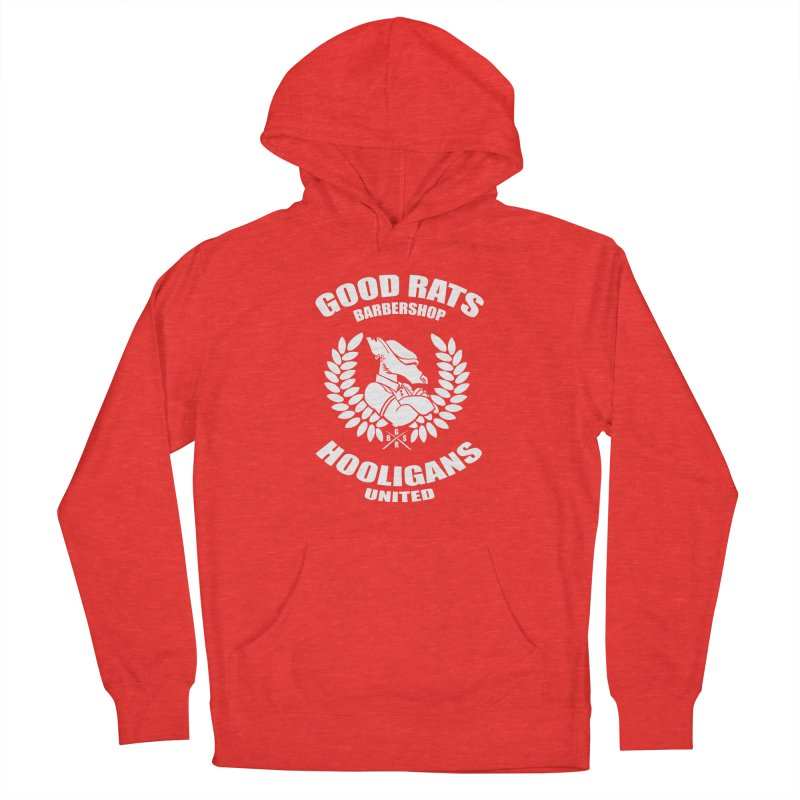 Hooligans United Men's Pullover Hoody by Good Rats Barbershop