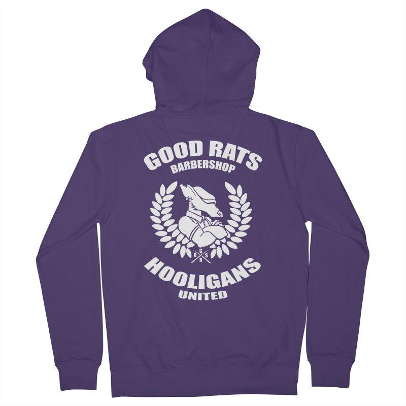 Hooligans United Women's Zip-Up Hoody by Good Rats Barbershop