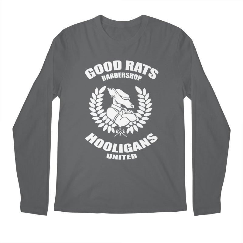 Hooligans United Men's Longsleeve T-Shirt by Good Rats Barbershop