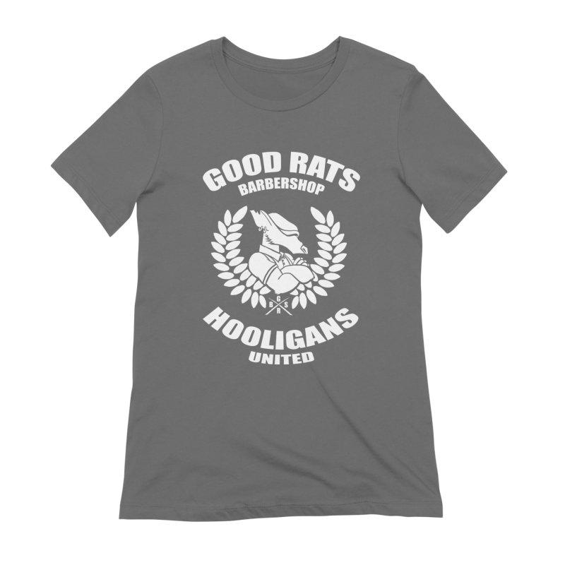 Hooligans United Women's T-Shirt by Good Rats Barbershop