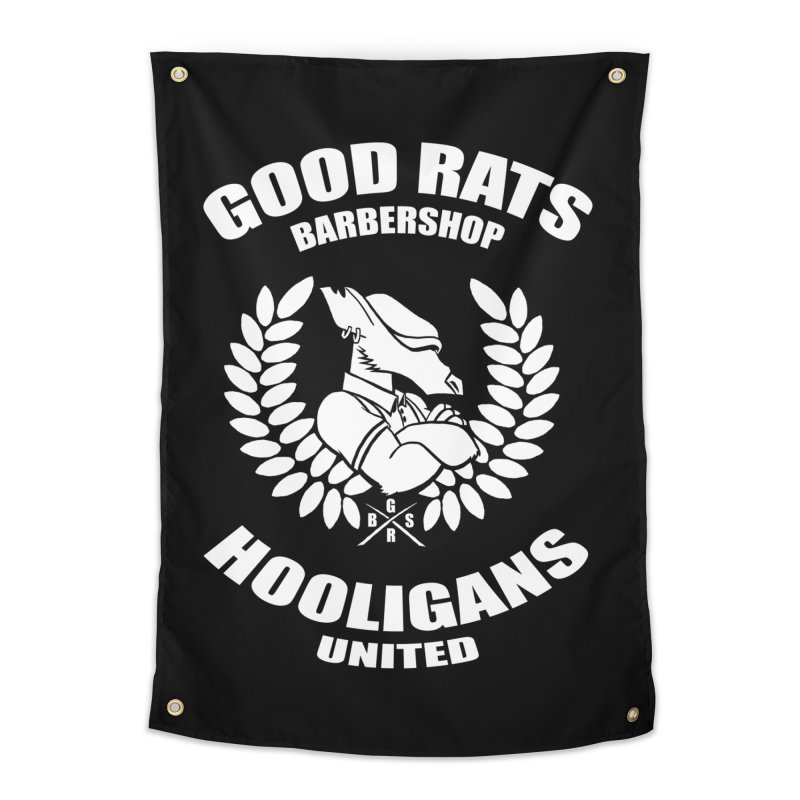 Hooligans United Home Tapestry by Good Rats Barbershop