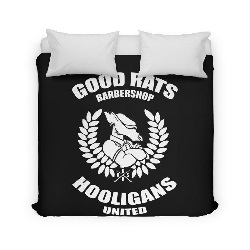 Hooligans United Home Duvet by Good Rats Barbershop