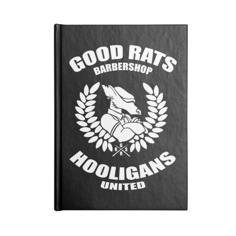 Hooligans United Accessories Notebook by Good Rats Barbershop