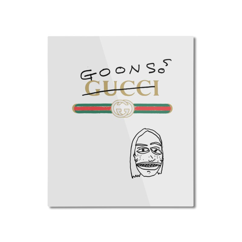 Goons! Home Mounted Aluminum Print by GOONS