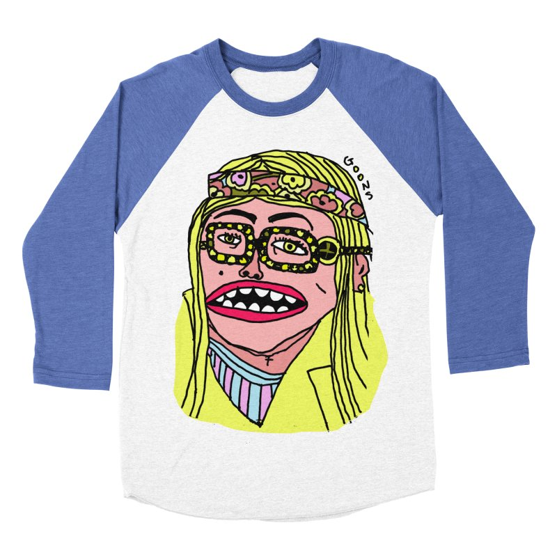 Goonoyello Women's Baseball Triblend Longsleeve T-Shirt by GOONS