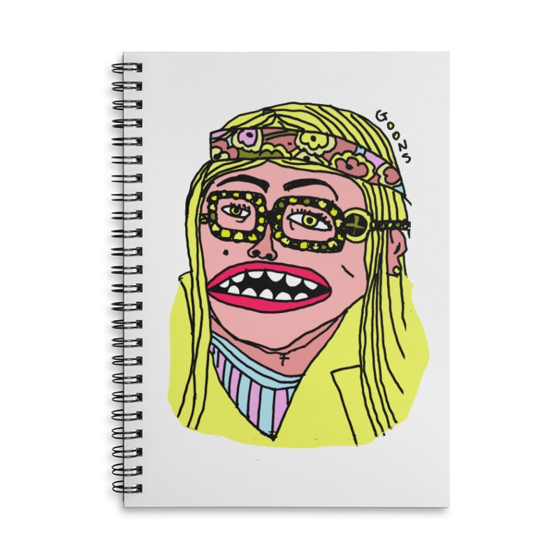Goonoyello Accessories Lined Spiral Notebook by GOONS