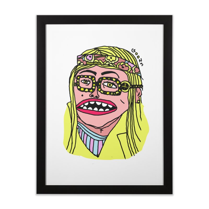 Goonoyello Home Framed Fine Art Print by GOONS