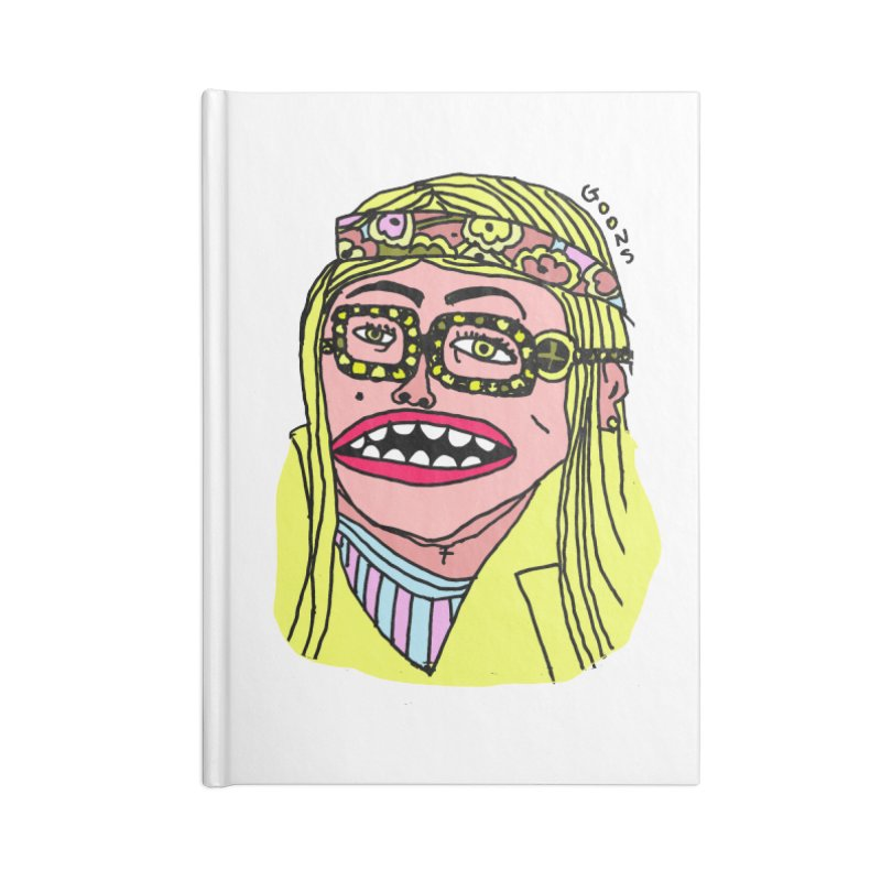 Goonoyello Accessories Lined Journal Notebook by GOONS